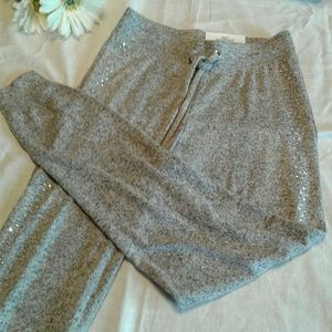 JUSTICE Embellished Active Jogger Pants Gray 8